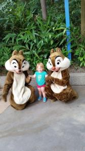 Chip and Dale meet Olivia