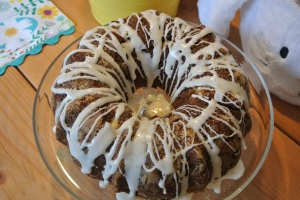 Apple spice cake