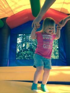 Olivia jumps